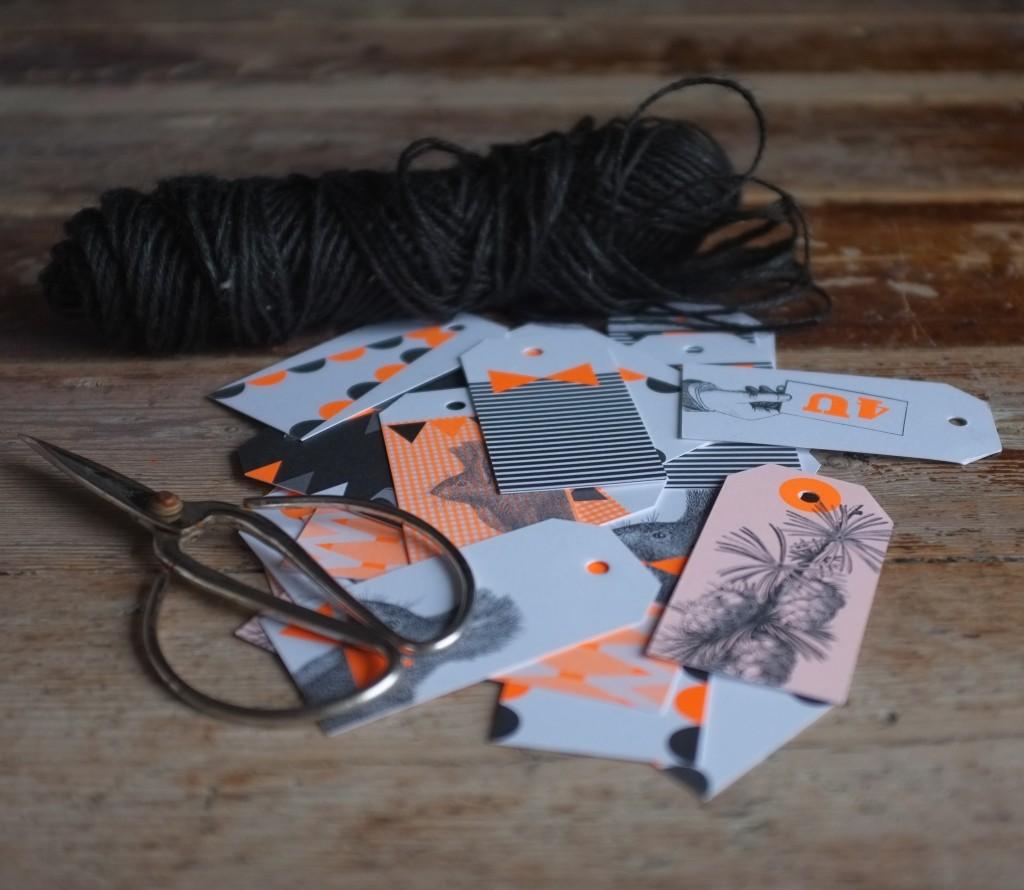 Flangranke DIY med gift tags fra Sisterbrandt