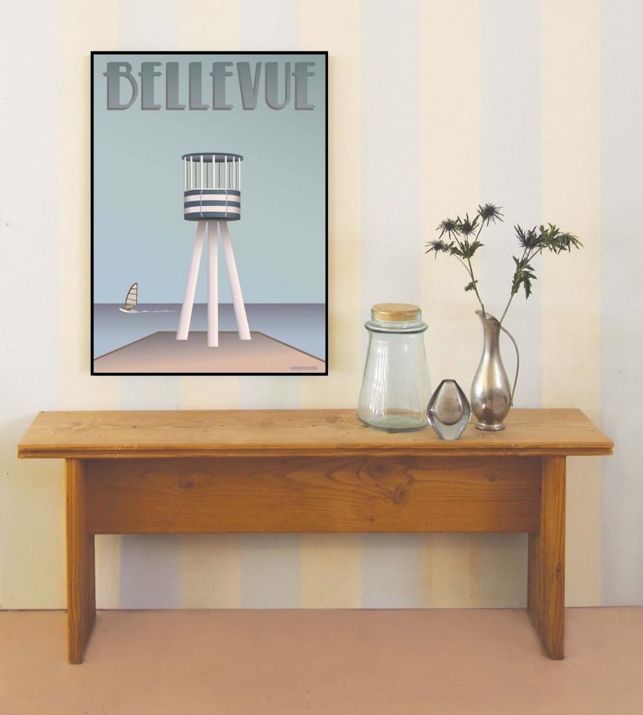 BELLEVUE livreddertårnet