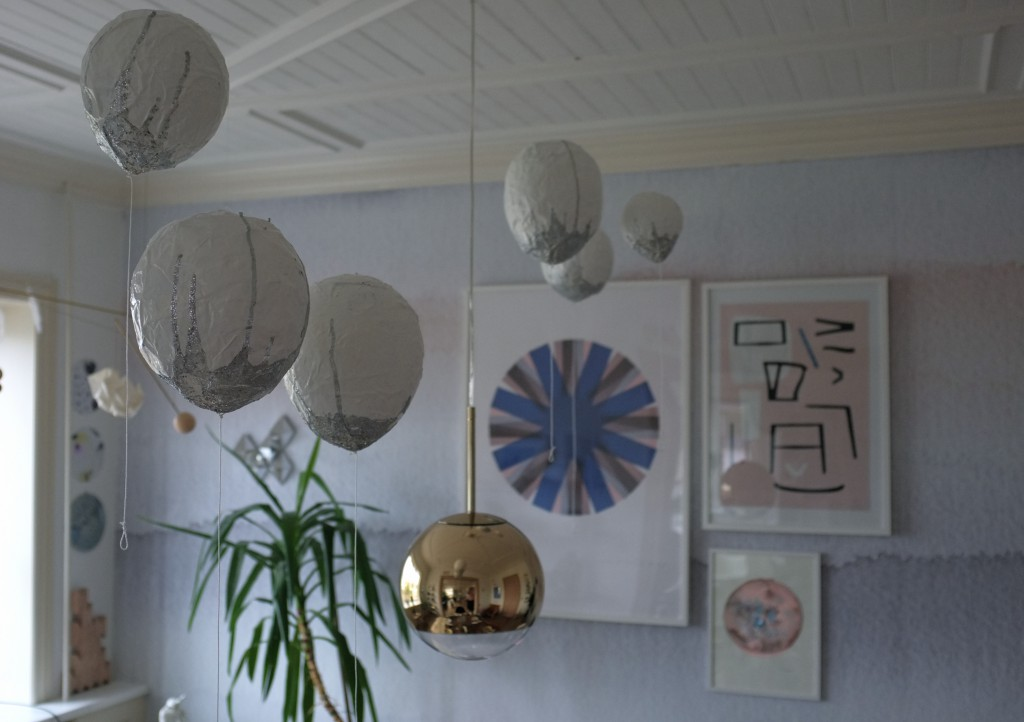 DIY Papmaché balloner