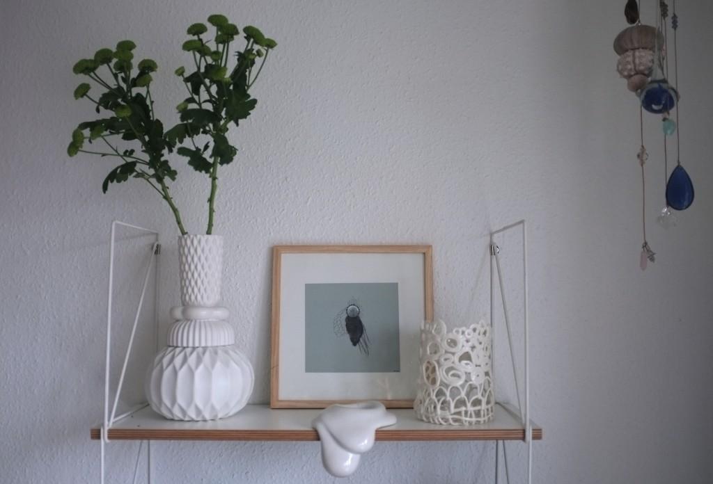 Hvid keramik og Matilde Friese