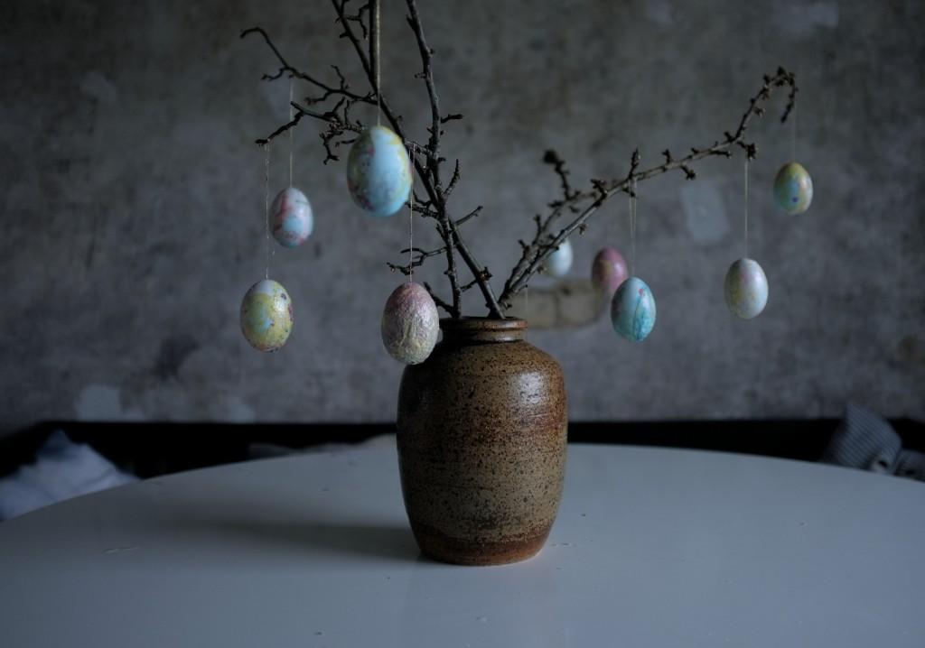 DIY marmorede æg