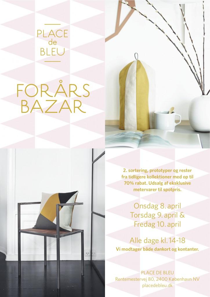 Place de Bleu, ForårsBazar 8-10 april 2015 kopi