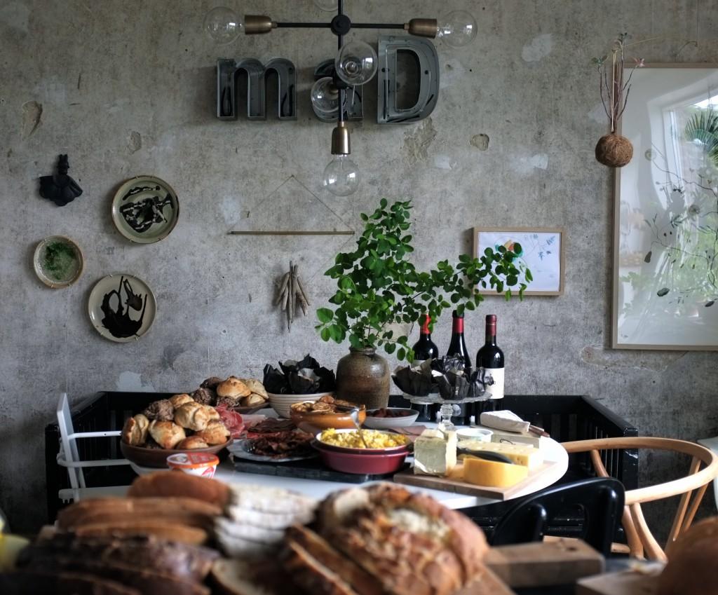 Buffet i køkkenet