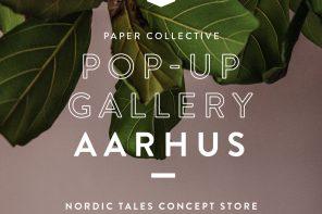 Paper Collective åbner pop-up shop i Aarhus