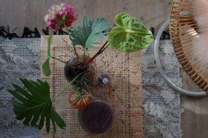 Et nyt udtryk til stuen med forskellige tekstiler