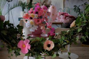 Pinterest, papirsblomster og papmaché
