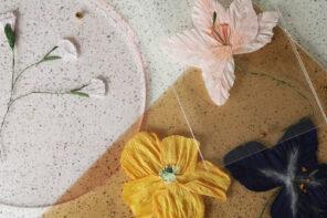 DIY – Pressede papirblomster