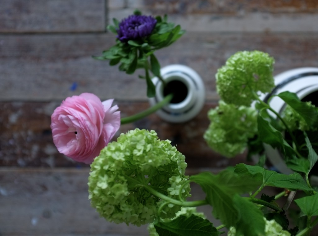 Blomster labdecor